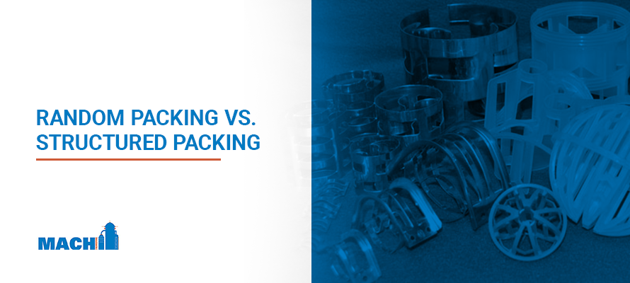 Random Packing vs Structured Packing