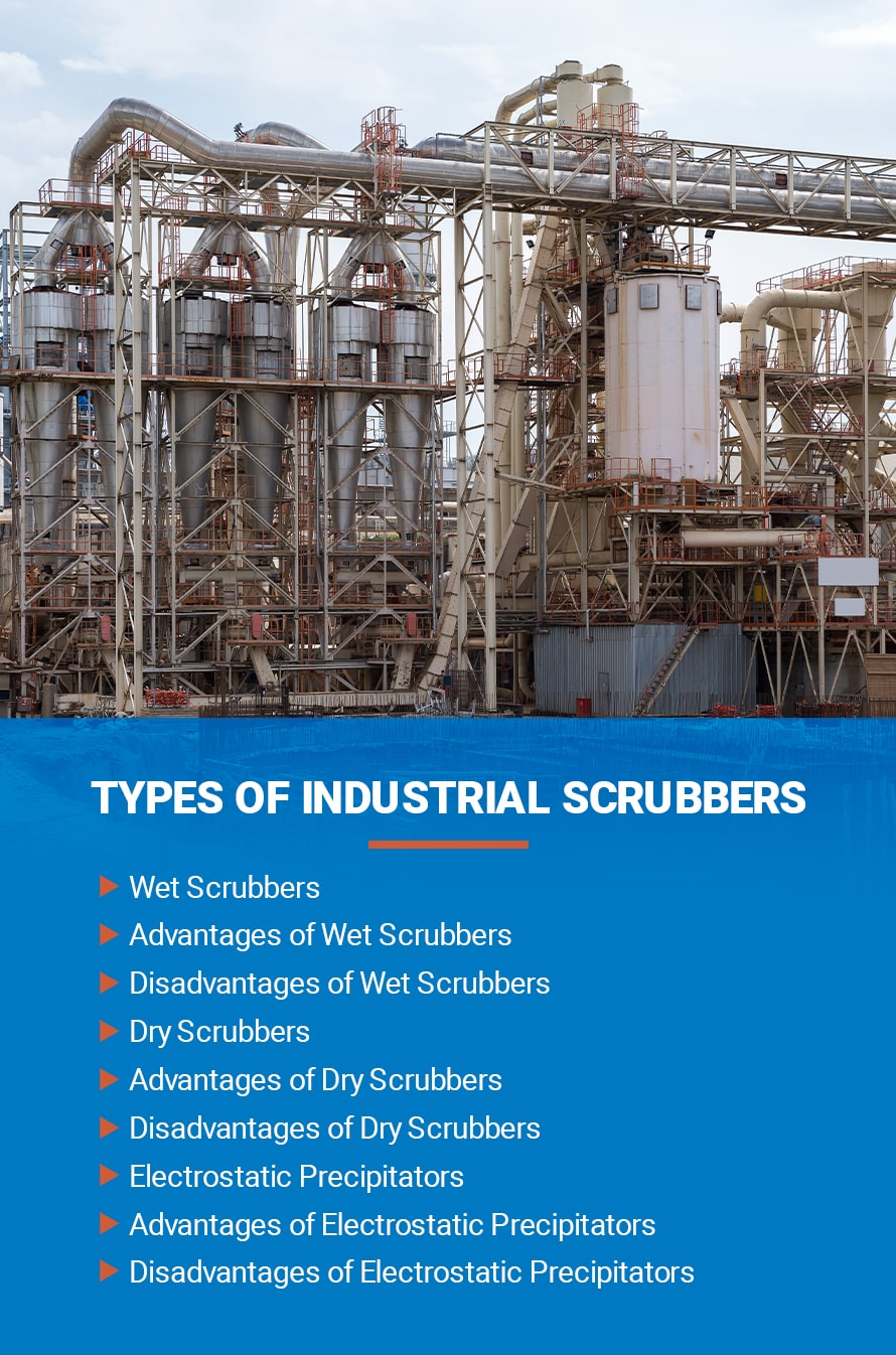 Types of Industrial Scrubbers