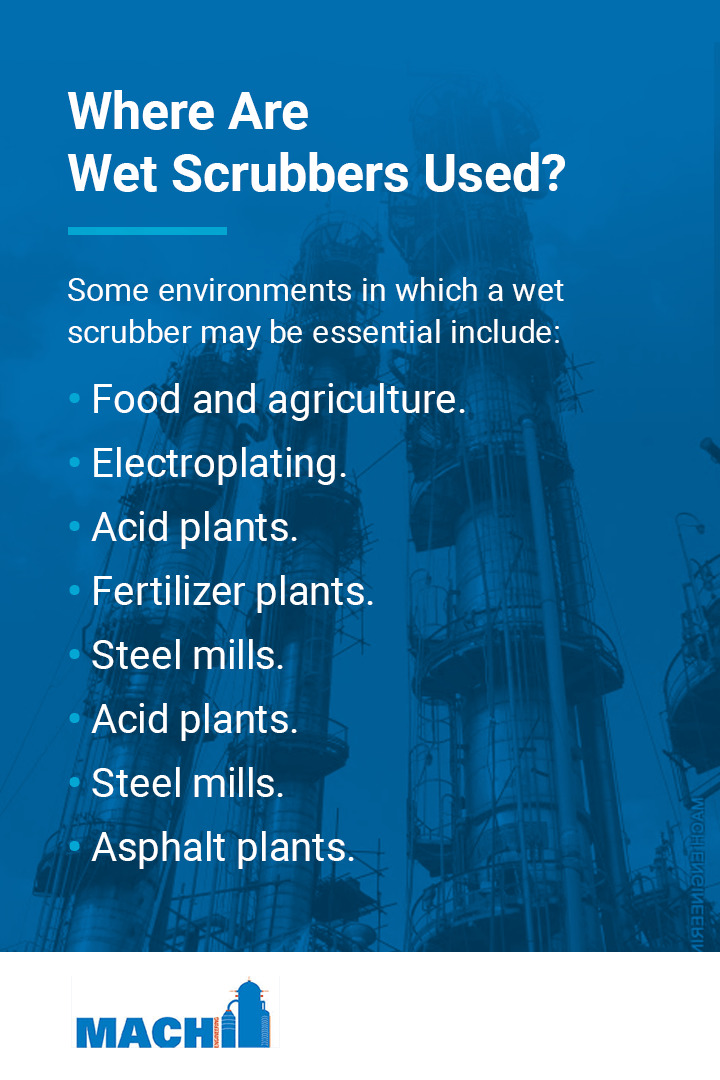 Where Are Wet Scrubbers Used?
